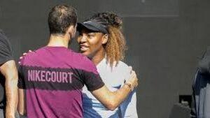 Григор Димитров тренира със Серена Уилямс преди US Open