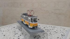 Макети на трамваи разказват част от историята на София