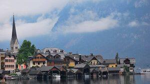 """Фотогалерия: Халщат, където Алпите """"дават"""" сол"""