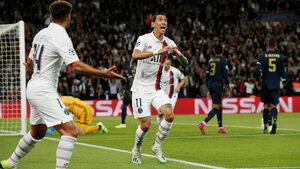 """ПСЖ подчини беззъбия """"Реал"""" с разгром на """"Парк де Пренс"""""""
