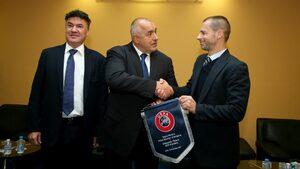 До 20 дни БФС щял да представи пред Борисов стратегия за развитие на футбола