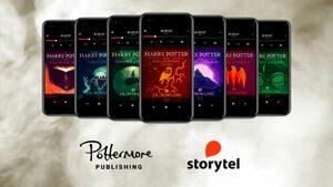 Книгите за Хари Потър са вече достъпни като аудиокниги на английски език