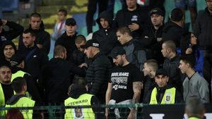 Стюарди са участвали в расистките прояви на мача с Англия