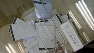 Жандармерия охранява транспортирането на бюлетини за местния вот
