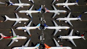"""""""Боинг"""" са обвинени в криене на информация за проблеми на модела 737 Макс"""