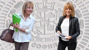 """""""Медиана"""": Фандъкова има лека преднина, кметът на София ще се избере на балотаж"""