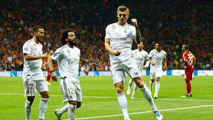 """""""Реал"""" взе глътка въздух след минимална победа над """"Галатасарай"""""""