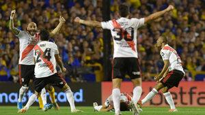 """""""Ривър плейт"""" удържа срещу """"Бока"""" и отново е на финал в Копа Либертадорес"""
