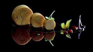 Терин от патешки дроб със сладко от зелени смокини