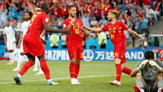 С красиви голове Белгия потегли устремено на световното