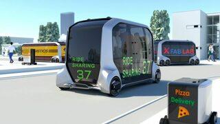 Електромобили без водач ще превозват спортистите в Токио 2020