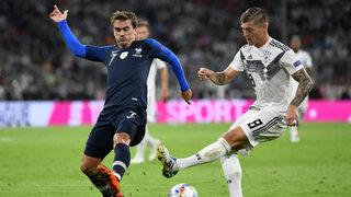 Германия започна опита си за възраждане с нулево равенство срещу световния шампион