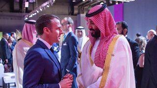 """""""Човек, който държи на думата си"""" или какво каза Макрон на саудитския принц"""