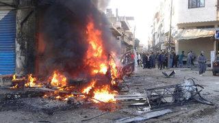 """Активисти свързаха атентата в Идлиб с """"Ислямска държава"""""""
