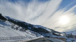 Фотогалерия: Вал Д'Изер - да ти се завие свят от сняг и синева