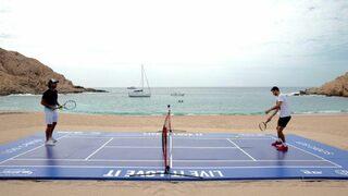 "Видео: Григор Димитров се вдъхнови с тенис на райски плаж в <span class=""highlight"">Мексико</span>"