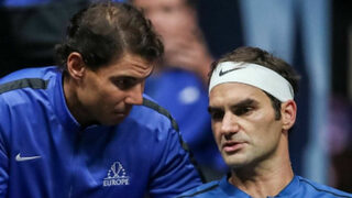 """Федерер срази Кириос с ключови треньорски съвети от <span class=""""highlight"""">Надал</span> (видео)"""