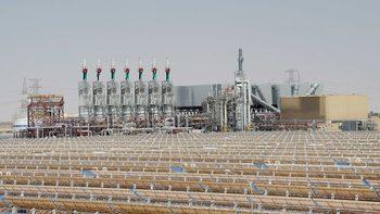 Най-голямата в света слънчева централа Шамс 1 заработи в ОАЕ