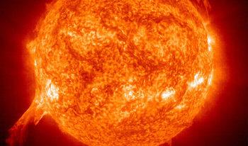 НАСА разпространи звук от Слънцето