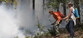 В тополовградско започна евакуация заради пожар