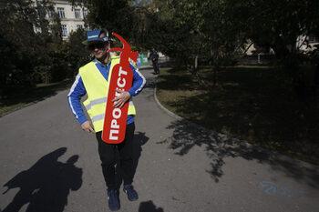 Протести срещу лошата инфраструктура и сечта в Лозенска планина се проведоха в София
