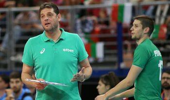 Пламен Константинов очаква друго лице от волейболистите за мачовете във Варна