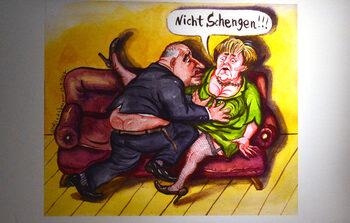 Фотогалерия: Европа на карикатуристите