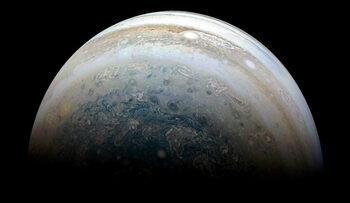 Снимка на деня: Юпитер, заснет от