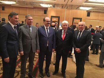 Лютви Местан бил единственият български партиен лидер на конгреса на партията на Ердоган