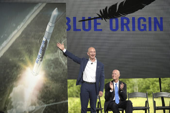 Космическата компания на Джеф Безос навлезе в отбранителната индустрия