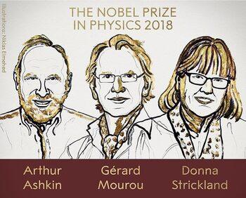 Учени с революционни открития в лазерната физика взимат Нобеловата награда