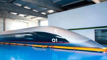 Първият високоскоростен влак Hyperloop бе сглобен в Испания (видео)