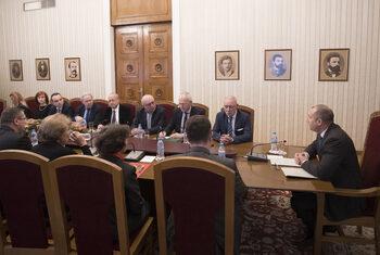 Президентът Радев се срещна с работодателските организации