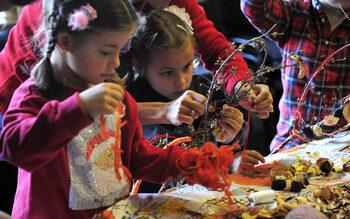 Фотогалерия: Коледни работилници в музея