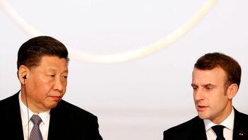 Макрон поиска Китай да уважава единството на ЕС