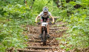Фотогалерия: С колело през гората по време на