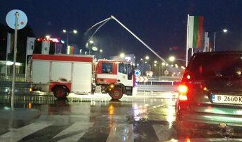 Кръговото, което пропадна във Варна, е било открито за движение без да е завършено (видео)