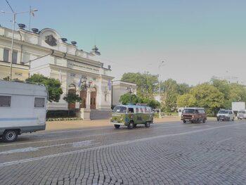 Протест срещу застрояването на Черноморието и за свободно къмпингуване блокира кръстовища