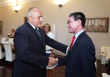 Борисов призова за повече японски инвестиции и туристи
