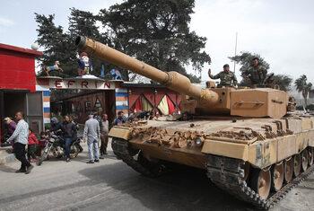 Турската армия започна новата офанзива срещу кюрдите в Сирия