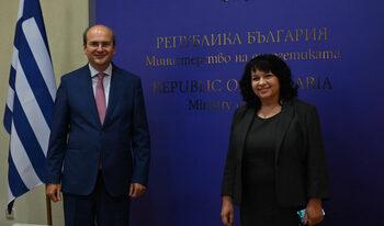 България и Гърция договориха данъчния режим за проекта за изграждане на газов интерконектор