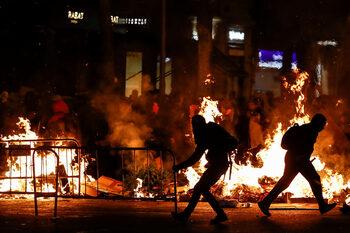 Безредиците в Каталуня продължават, за днес е насрочена обща стачка