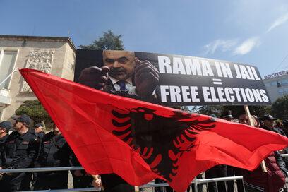 Фотогалерия: Албания иска промяна