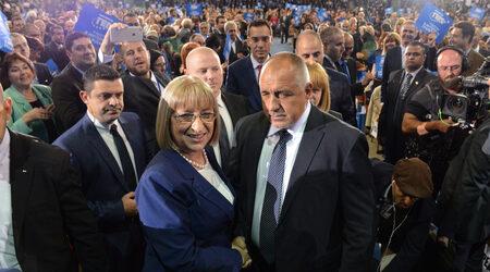 Борисов няма да подаде оставка, ако Цачева е първа на първи тур, но втора на...