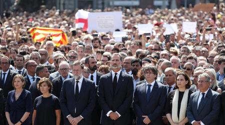 Снимка на деня: Мадрид и Барселона се събраха, за да кажат