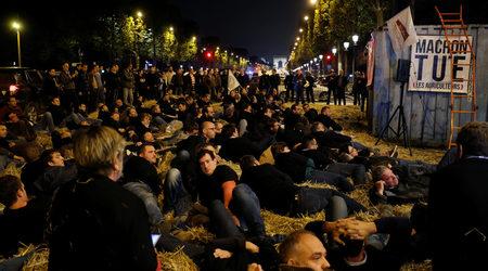 Протестиращи френски фермери блокираха