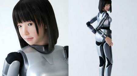 Робот дебютира като моден модел Zx450y250_693596