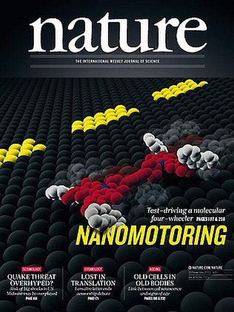 Учени направиха електромобил от една молекула