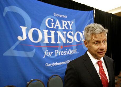 Кандидатът на Либертарианската партия Гари Джонсън е бивш републиканец и е бил губернатор на Ню Мексико в периода 1995 г. - 2003 г