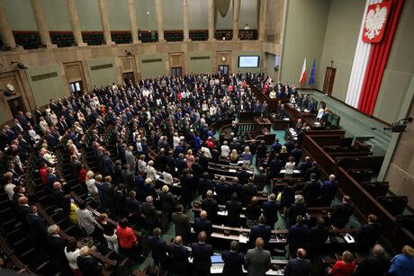 Партията на Качински има мнозинство в Сейма.